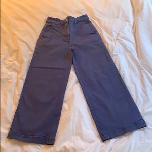 Everlane blue wide leg pants